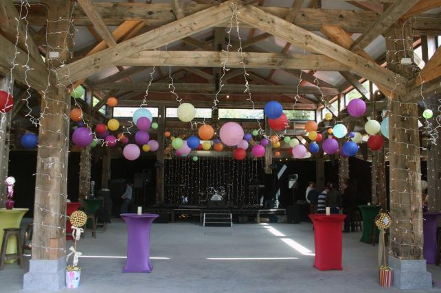 Mad Hatters Barn Party paper Lanterns