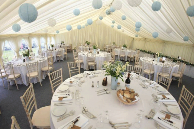 Marquee Lace Lanterns