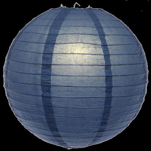 Large Navy Blue paper lanterns