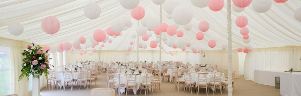 Paper Lanterns And Wedding Lanterns Supplied By The Hanging