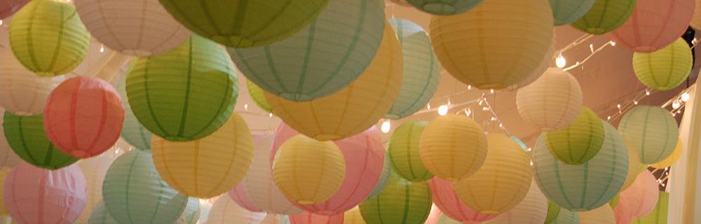 Pastel Lanterns