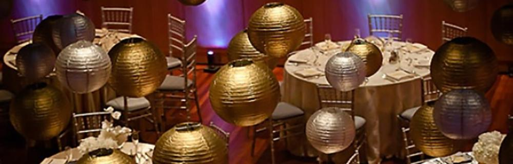 Silver and Gold Lanterns