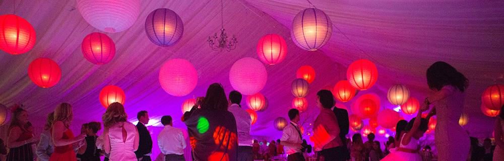Pinks and Purple Lanterns