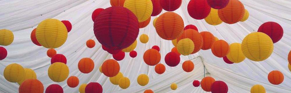 Red, Orange and Yellow Lanterns