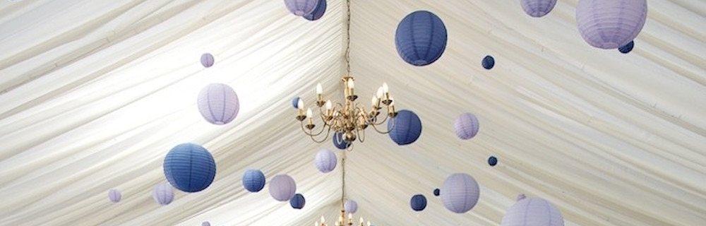 Regal paper wedding Lanterns