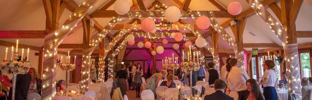 Vintage Glamour with paper lanterns