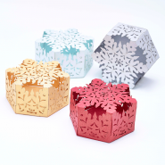 Christmas Snowflake Favour Boxes
