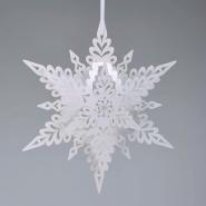 Deco White Christmas Snowflake