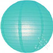 Water blue paper lanterns
