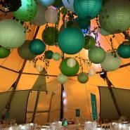 Tipi Wedding and Party Lanterns