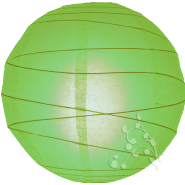 Round Lime paper lantern