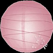 Pink Round Paper Hanging Lantern
