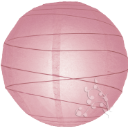 Round Pink paper lantern