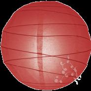 Round Red paper lantern