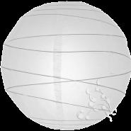 Round White paper lantern