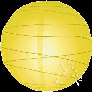 Yellow Round Paper Hanging Lantern