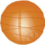 Large orange irregular paper lantern