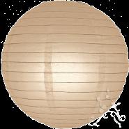 Latte round paper lantern
