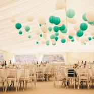 Marquee Coloured Lanterns