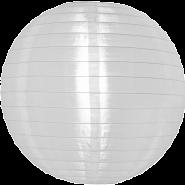 White Nylon outdoor hanging lanterns