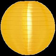medium size yellow nylon lanterns
