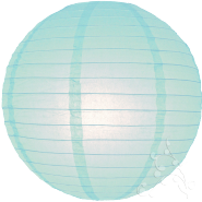 Baby blue paper lantern