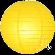 Yellow chinese paper lanterns