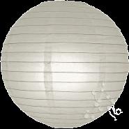 Regular Round Lanterns In Dove Grey