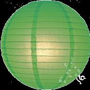 Grass Green round paper lantern
