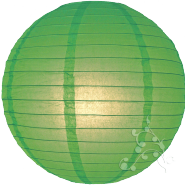 Grass Green Paper Lanterns