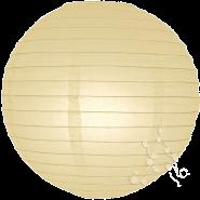 Ivory round paper lantern