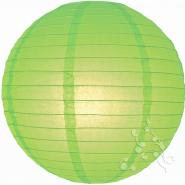 Small Lime Round paper lantern
