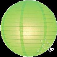 Large Light Lime round paper lantern