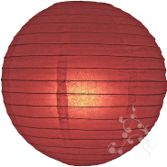 Mauve paper lantern