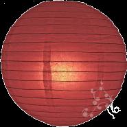 Mauve round paper lantern