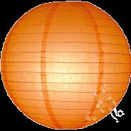 Orange chinese paper lanterns