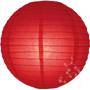Small red paper hanging lantern