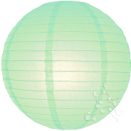 Robin Egg Chinese Lantern