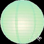 Robin Egg paper hanging lantern