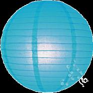 Large Turquoise paper lanterns