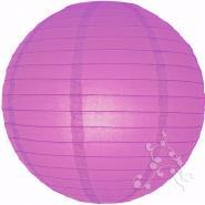 Violet paper lantern