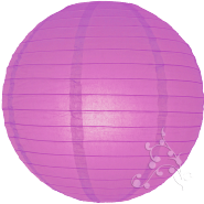 Small violet paper hanging lantern